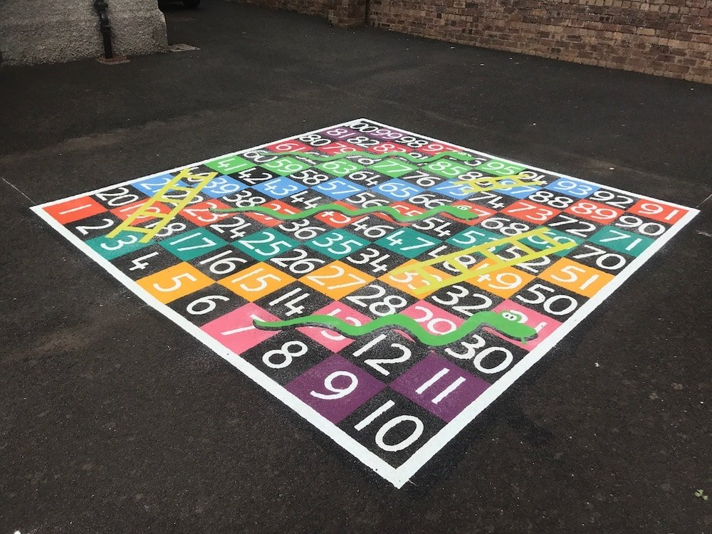 1-100-Snakes-and-Ladders