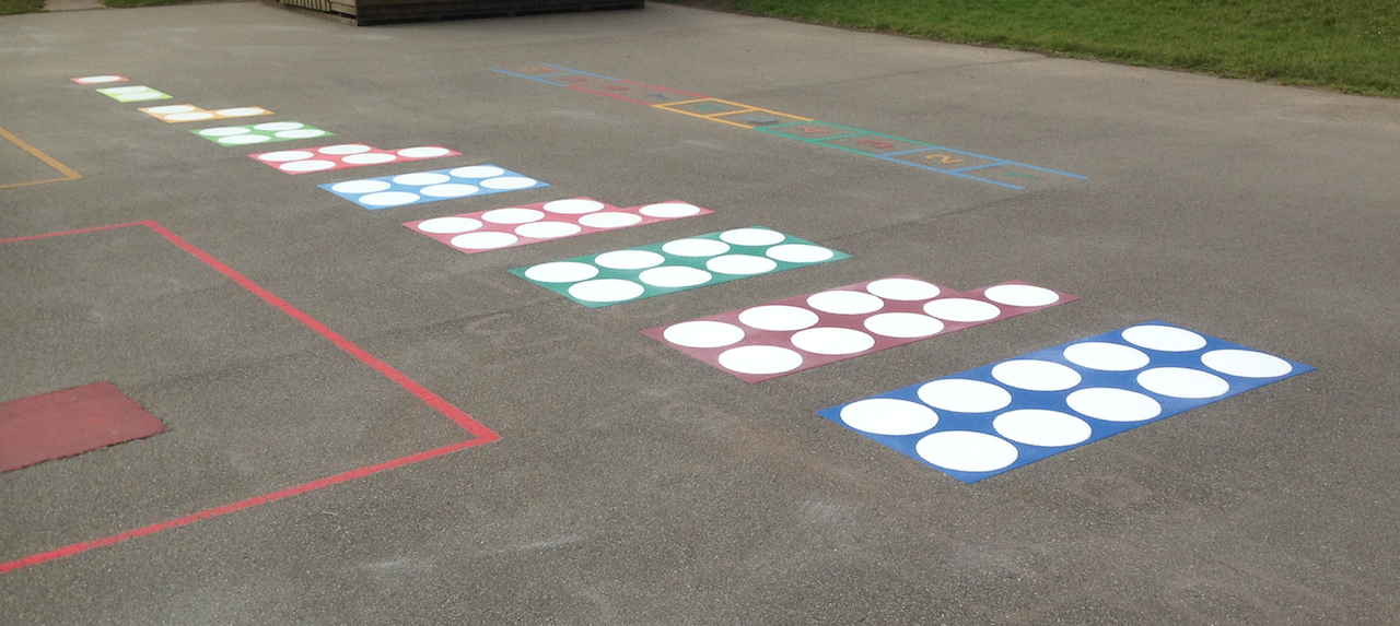 Playground Markings - Numicom