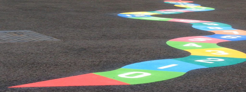Key stage 2 world map at st marys primary school bristol thermoplastic playground markings in dundee playground markings numeracy games to start with gumiabroncs Choice Image
