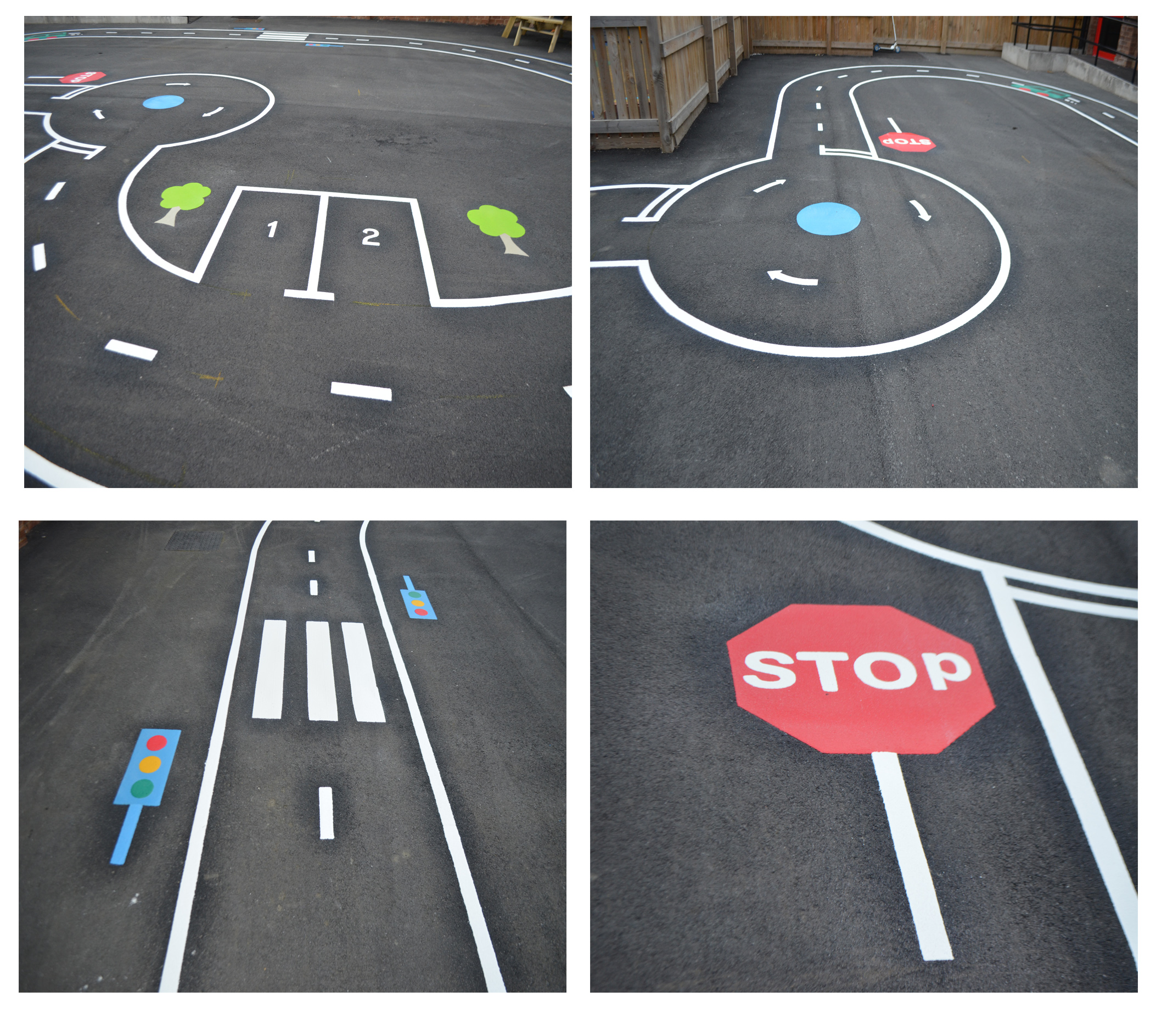 Playground Markings installed in Newcastle Special School ...