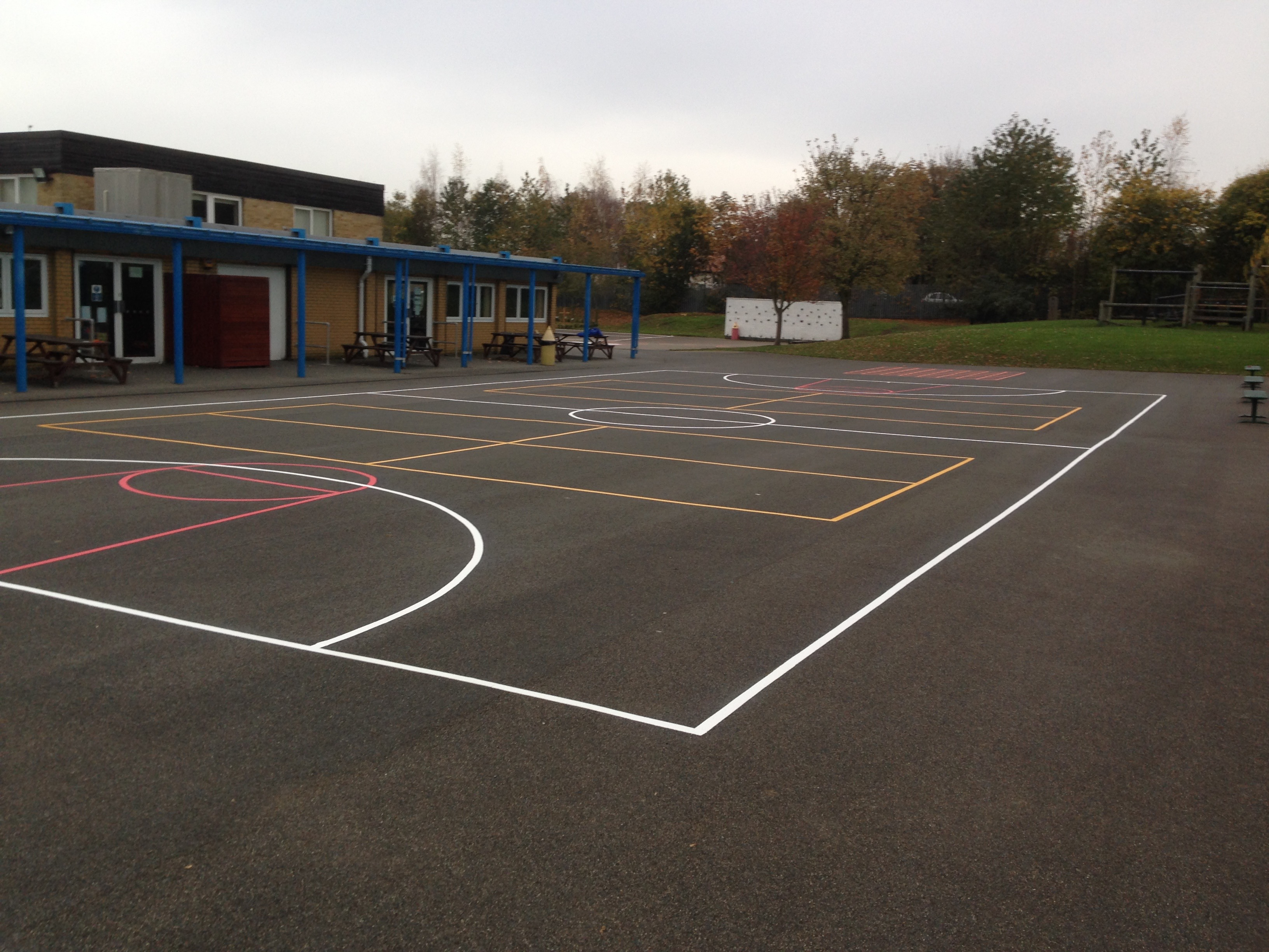 Netball, Basketball & Short Tennis Courts