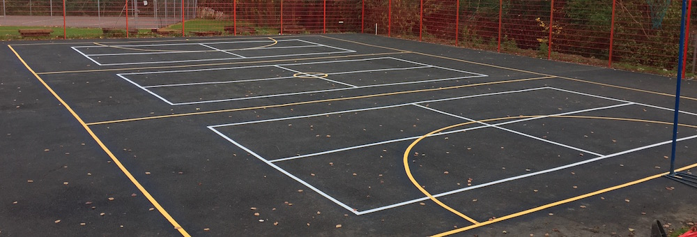 Short Tennis Court for Primary School