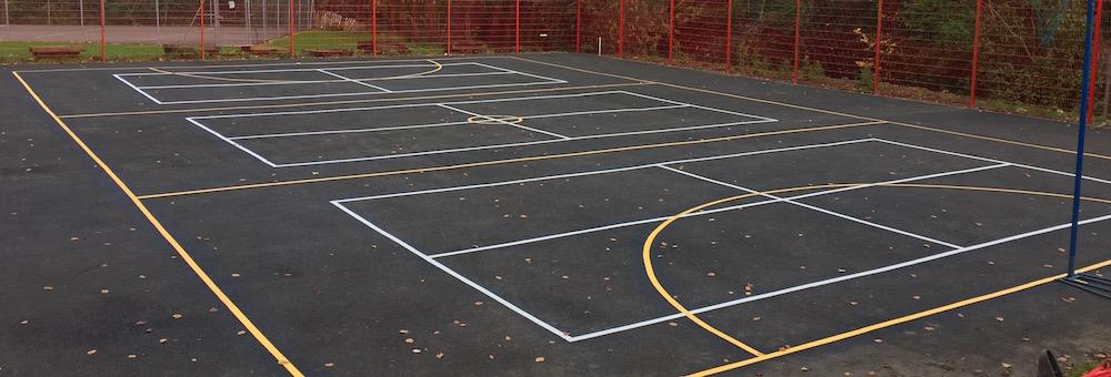 Short Tennis Court for Primary School