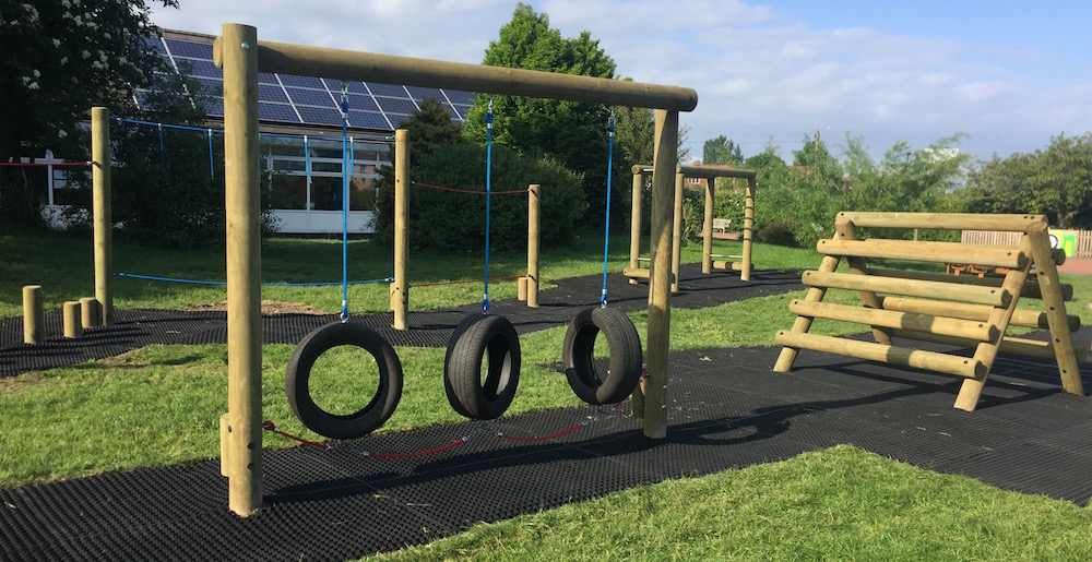 Tyre Swing playground equipment