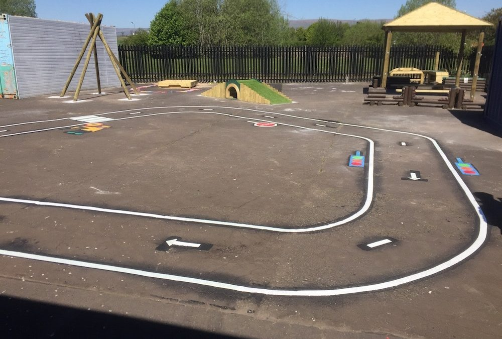 first4playgrounds Playground Markings in North London