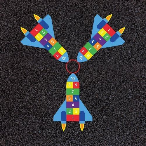 3-Way-Rocket-Hopscotch