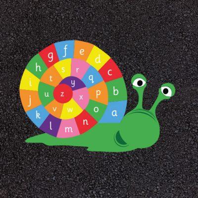 A-Z Playground Snail