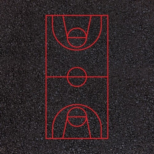 Playground Markings - Sports Pitches - Basketball Court Example