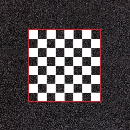 Playground Markings - Board Games and Grids - Chess Board Example