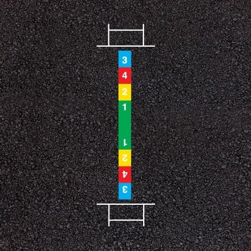 Playground Markings - Sports Pitches - Cricket Example