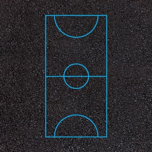 Playground Markings - Sports Pitches - Football Pitch Example