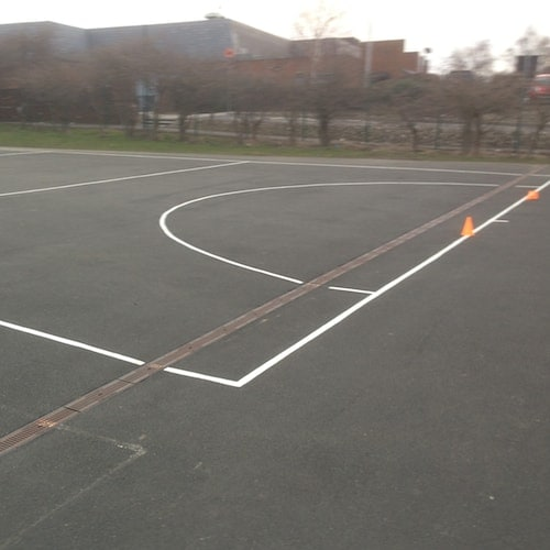 Playground Markings - Sports Pitches - Football Pitch On Site