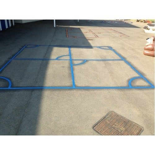 Playground Markings - Sports Pitches - Invasion On Site