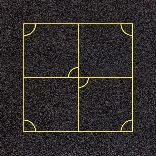 Playground Markings - Sports Pitches - Invasion
