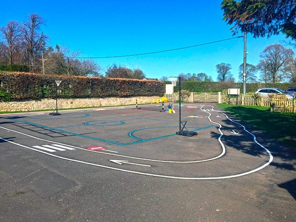 Tailor Made Playground Markings For Morpeth Primary