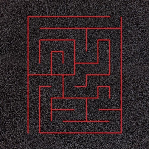 Playground Markings - Targets and Mazes - Rectangular Maze Example