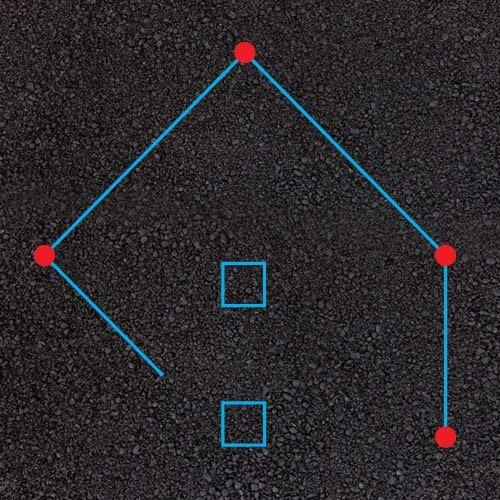 Playground Markings - Sports Pitches - Rounders Example