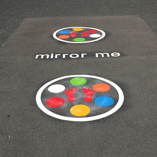 Playground Markings - Traditional Games - Mirror Me On Site