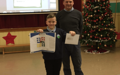 School Competition at Muirkirk Primary School in Dumfries and Galloway
