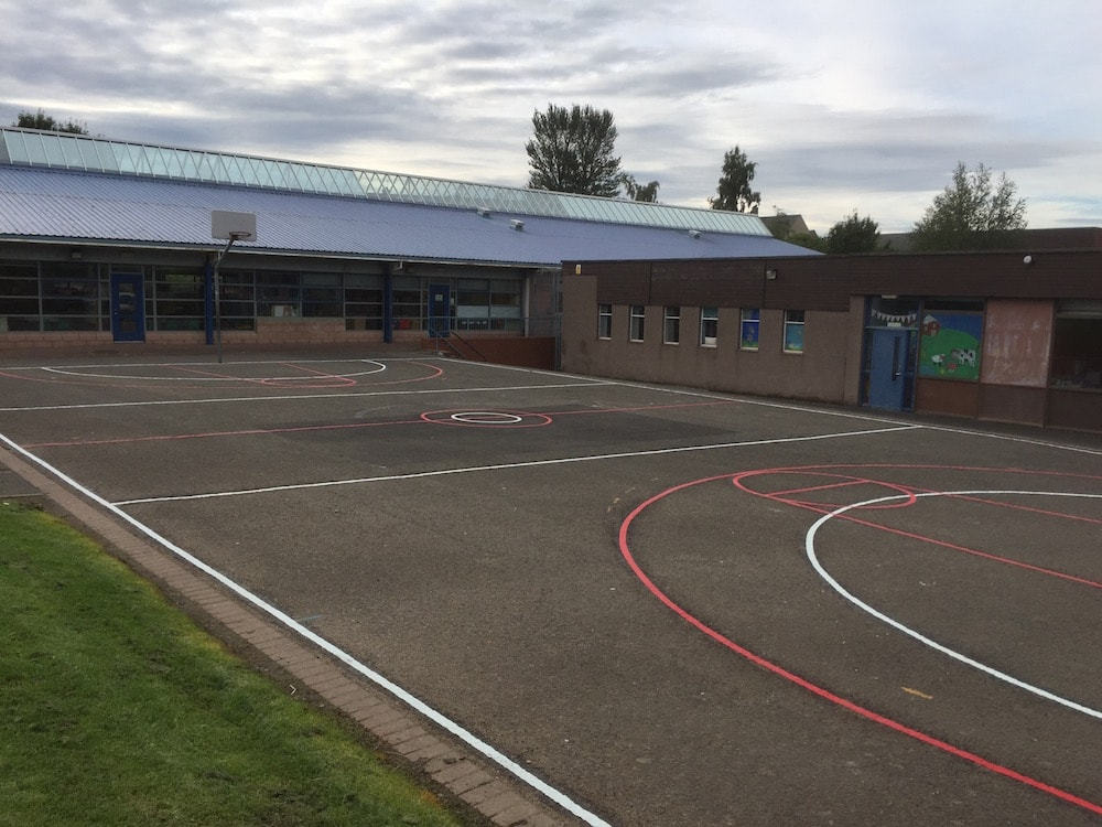 Hawick – Football/Basketball Court