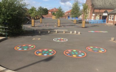 The Primary PE and Sport Premium Funding for Thermoplastic Playground Markings