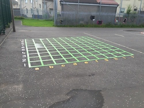 Co-ordinate-Grid-Lines
