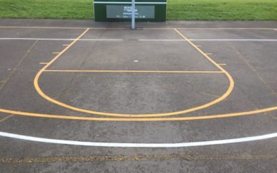 Thermoplastic Playground Markings at Manchester Academy