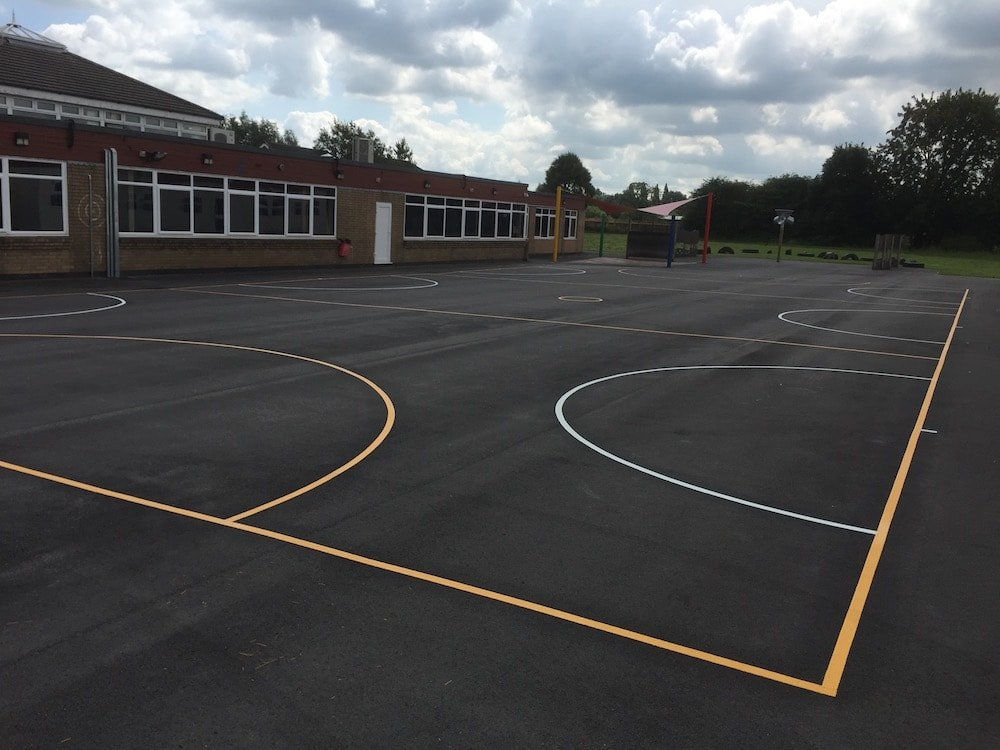 The Netball Court – Stockport
