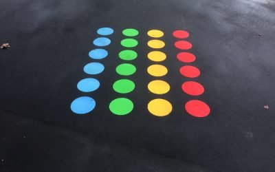 Thermoplastic Playground Markings at Highfield Infant School in Bromley, London
