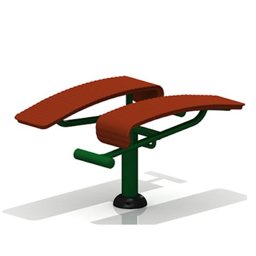 Children's Double Sit Up Bench