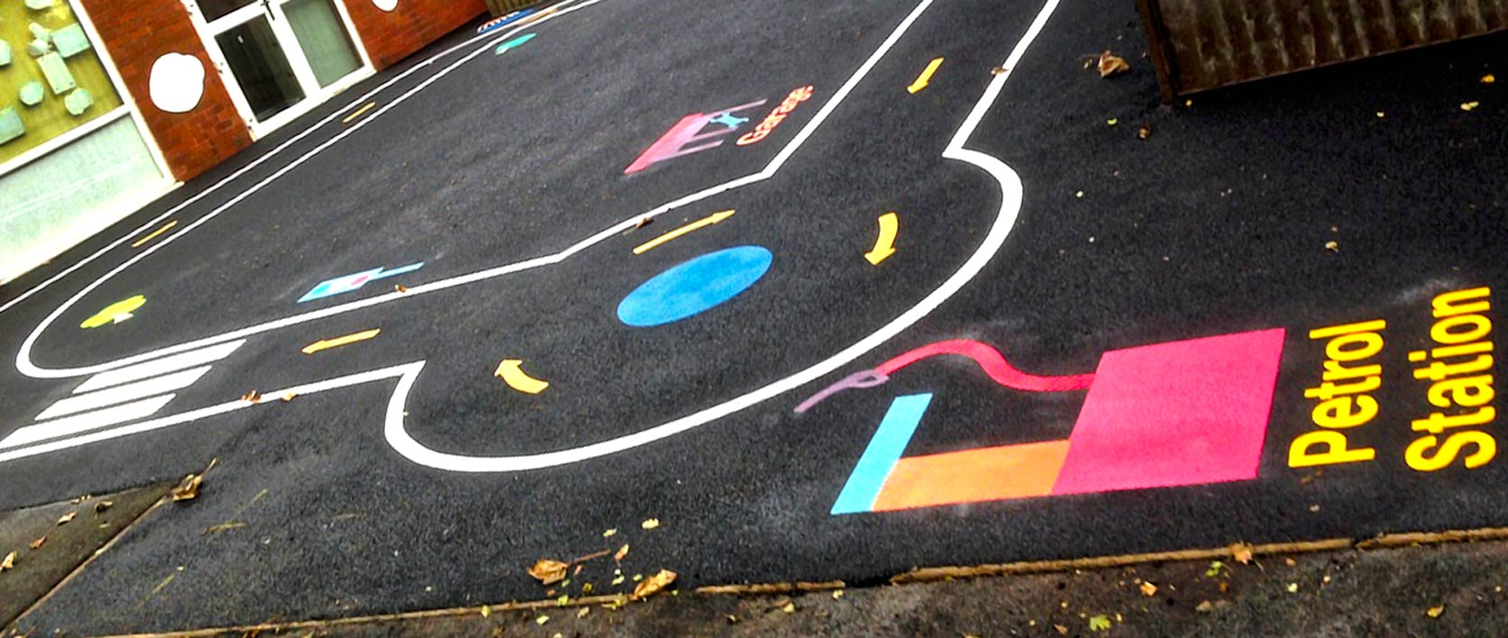 Playground Road Track at Spire Infants – Full