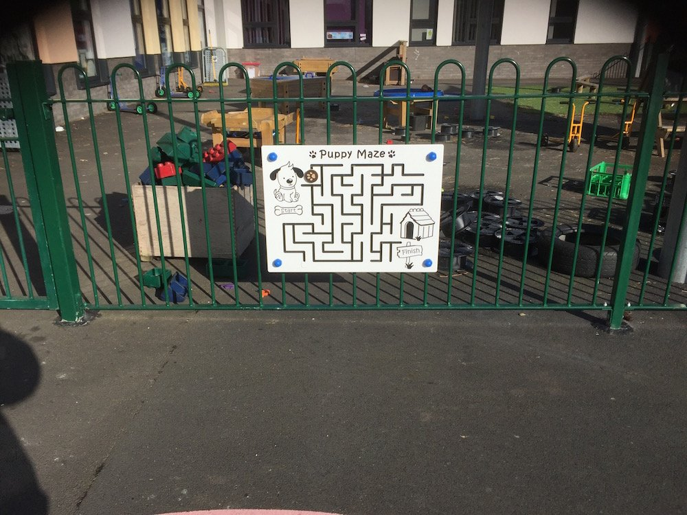 Puppy-Maze