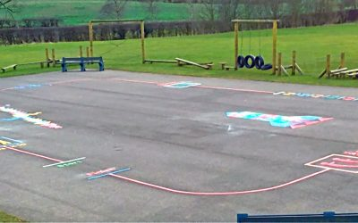 A Unique Exercise Track For St Mary's Primary