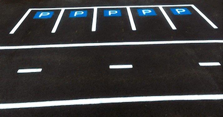 Parking Bays at St Patricks