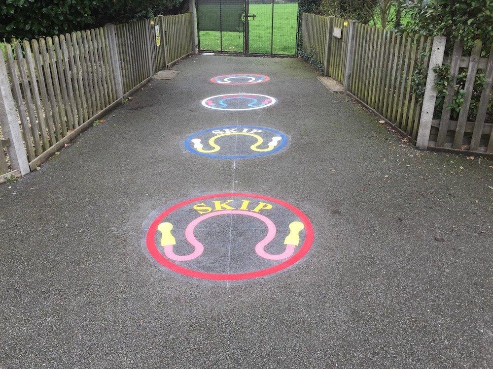 Skip-circles