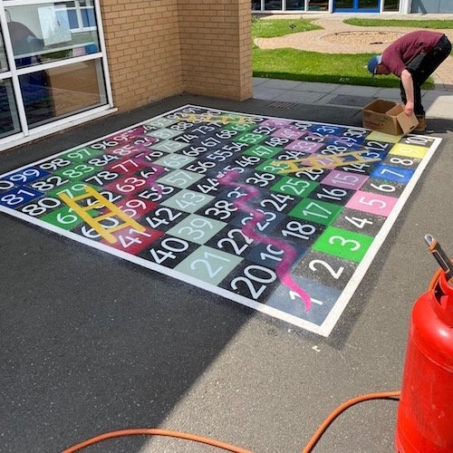 1-100-Snakes-&-Ladders