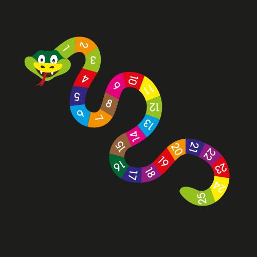 1 – 25 Snake