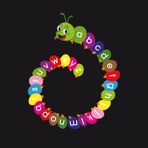 A-Z-Caterpillar-Spiral