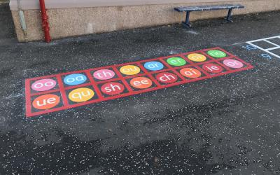 Vivid range of New Markings at Lady Alice Primary