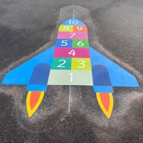 Rocket-Hopscotch