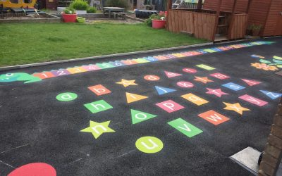 Dynamic new markings for East Chevington County Primary School